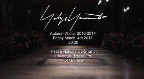 lenastore-inverno-2016-17-yohji-yamamoto-sfilata-video